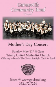 GCB Moms Day Concert Poster R2