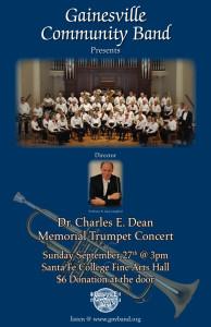 GCB Memorial Trumpet Concert Sept 2015